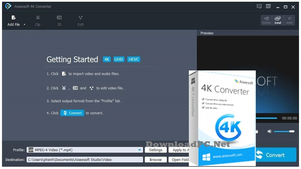Aiseesoft 4K Converter Full Version Free Download