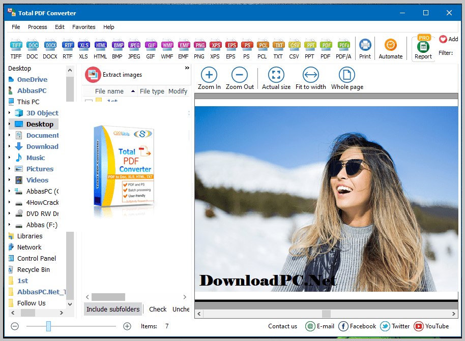 Coolutils Total PDF Converter Free Download for Windows