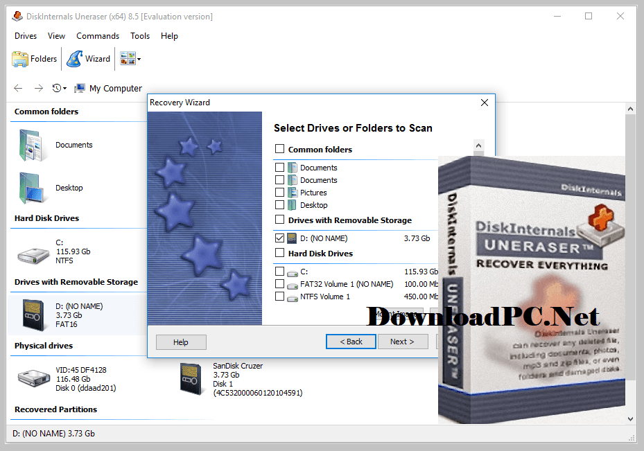 DiskInternals Uneraser Free Download for Windows