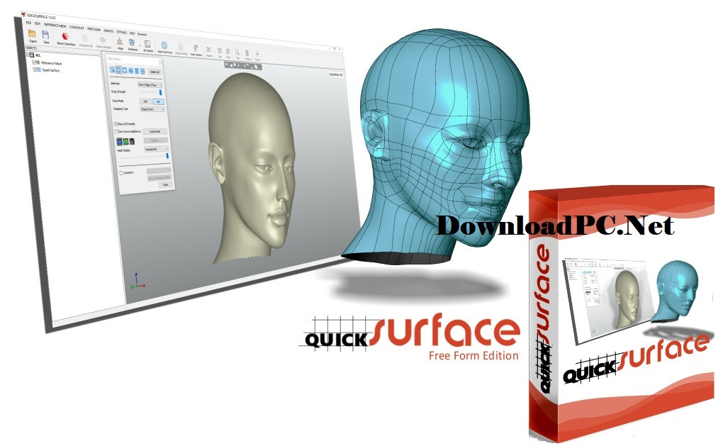Quick Surface Free Download for Windows Key