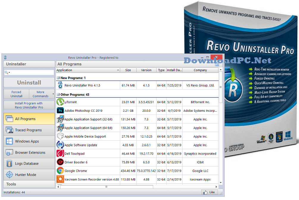 Revo Uninstaller Pro License Key Free Download